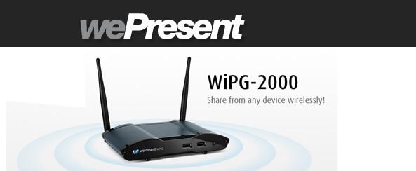 ALTEREiZO vous propose de tester le WePresent 2000 !